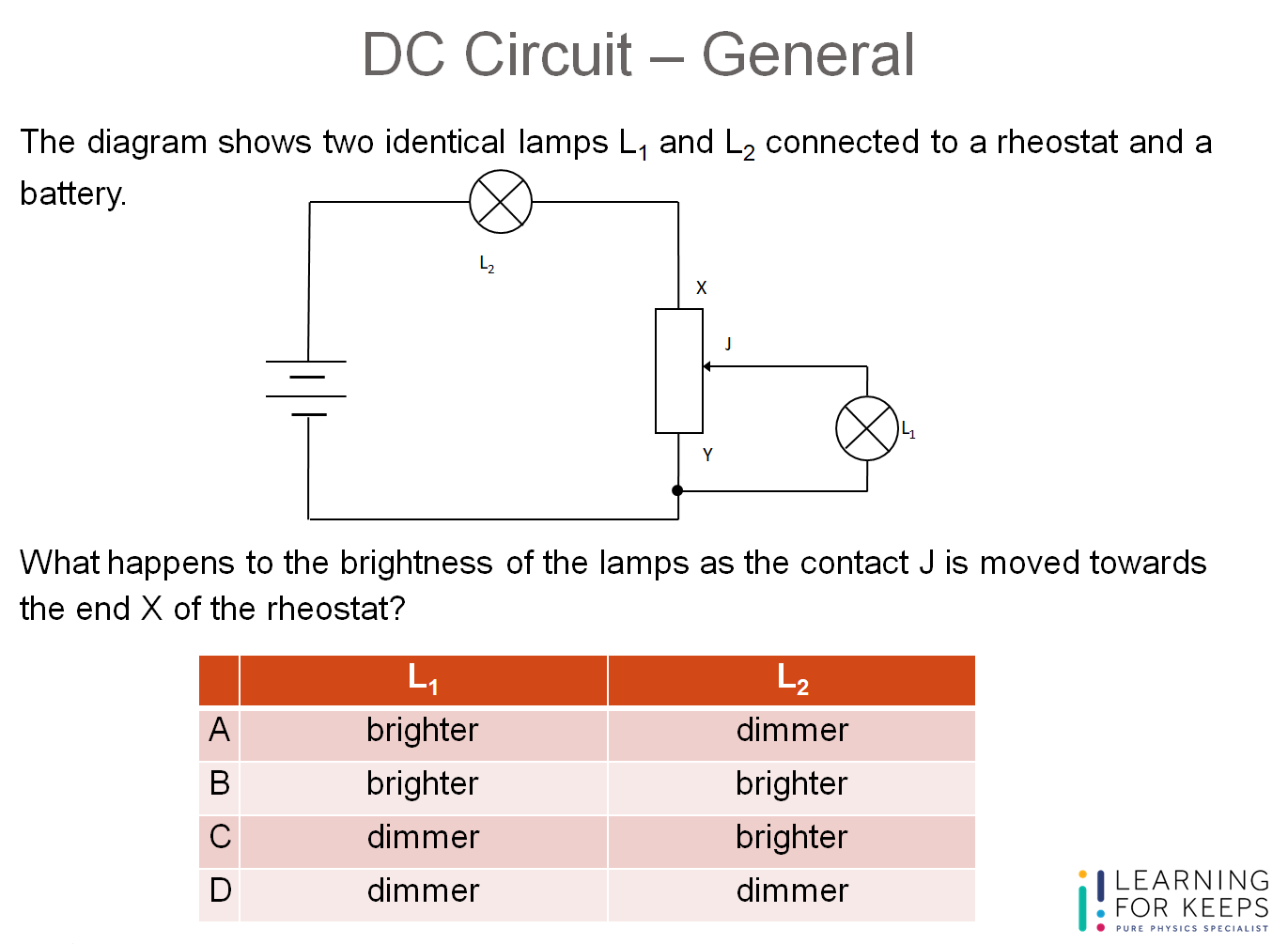 Question Guide – DC Circuit – MCQ