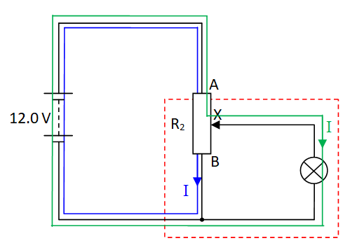 O Level Physics DC Circuit - Potential Divider Solution Image