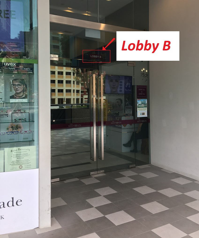 O Level Physics Tuition Hougang Midtown Lobby B