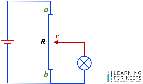 Question Guide – DC Circuit – Resistance of a Potential Divider Circuit