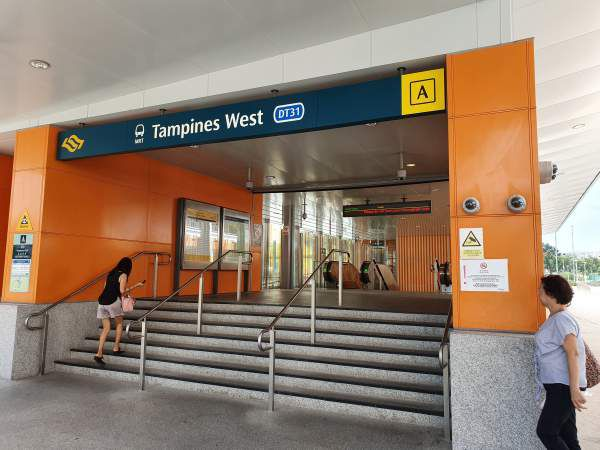 Tampine West MRT Exit A